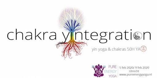 Yin Yoga Opleiding - Yin Yoga & Chakra's (50h YA)