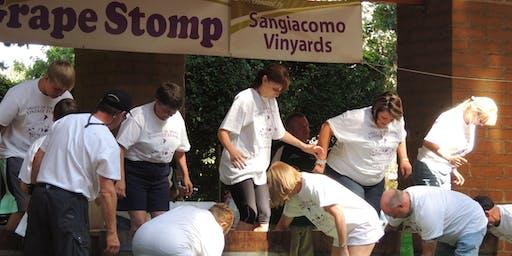 2019 Benefit Grape Stomp-Vintage Festival