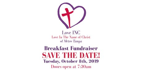 Love INC (In the Name of Christ) of Metro, Inc. Tampa October Breakfast Fundraiser  tickets