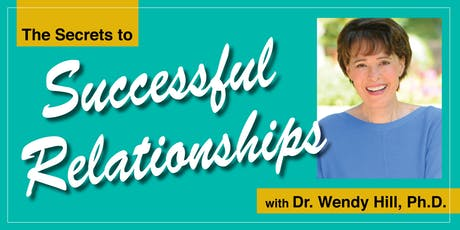 The Secrets to Successful Relationships tickets
