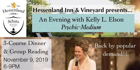 An Evening with Psychic Medium Kelly Elson  tickets