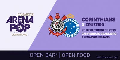 Camarote Arena Pop I Corinthians x Cruzeiro