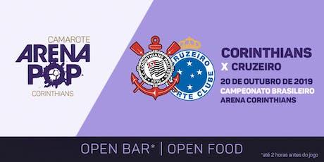 Camarote Arena Pop I Corinthians x Cruzeiro ingressos