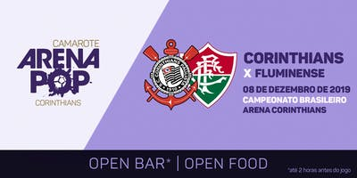 Camarote Arena Pop I Corinthians x Fluminense