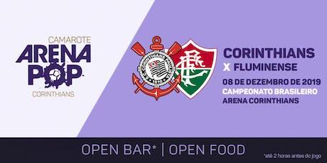 Camarote Arena Pop I Corinthians x Fluminense ingressos