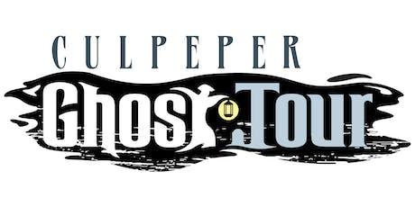 Culpeper Fall Ghost Tour tickets