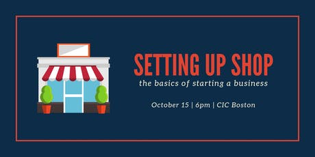 Setting Up Shop: How to Start a Business tickets