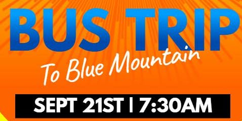 Blue Mountain Bus Trip