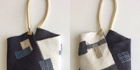 Boro Hand-Stitched Felt Bag tickets