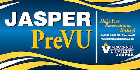Jasper PreVU Spring 2020 tickets
