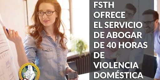 Copy of Copy of Capacitación de Vocera de Violencia Domestica de 40-Horas - Español