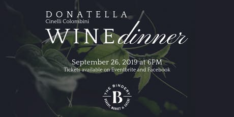 Donatella Wine Dinner tickets