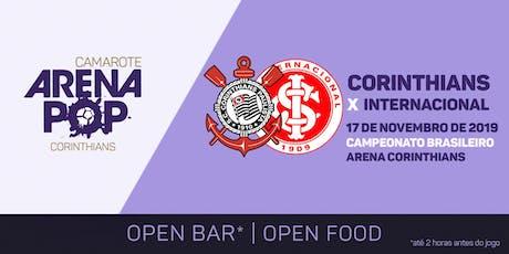 Camarote Arena Pop I Corinthians x Internacional ingressos