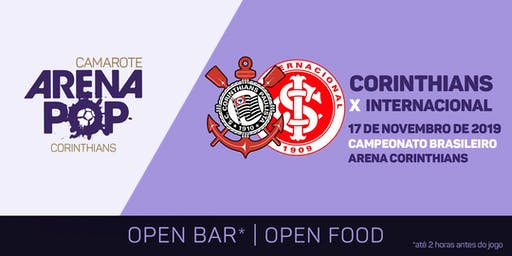 Camarote Arena Pop I Corinthians x Internacional