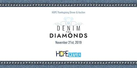 Denim & Diamonds HOPE Thanksgiving Dinner tickets