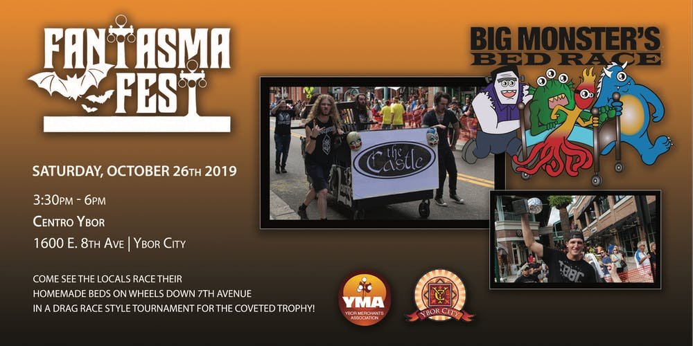 Big Monster's Bed race Tickets, Sat, Oct 26, 2019 at 3:30 PM