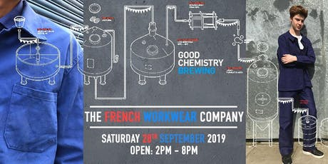 French Workwear Pop Up Sale at Good Chemistry Brewing Bristol tickets