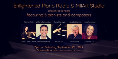 Enlightened Piano Radio in Ottawa tickets