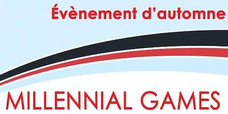 MILLENIAL GAMES du RJE tickets