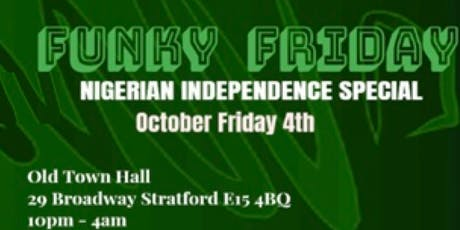 Funky Friday Nigerian Independence Special tickets