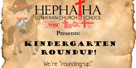 Kindergarten Roundup! tickets