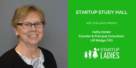 Startup Study Hall with Kathy Kinder tickets