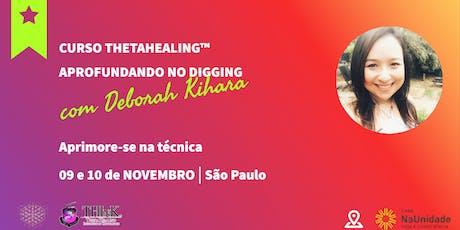 Curso Thetahealing® Aprofundando no Digging 09 e 10 de Novembro de 2019 ingressos