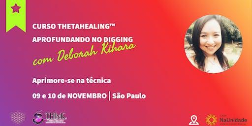 Curso Thetahealing® Aprofundando no Digging 09 e 10 de Novembro de 2019