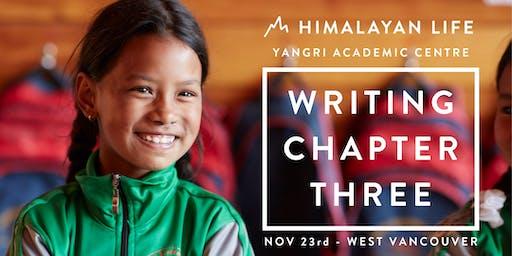 West Van: Writing Chapter Three