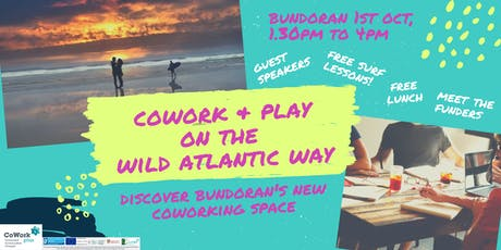 CoWork and Play on the Wild Atlantic Way tickets