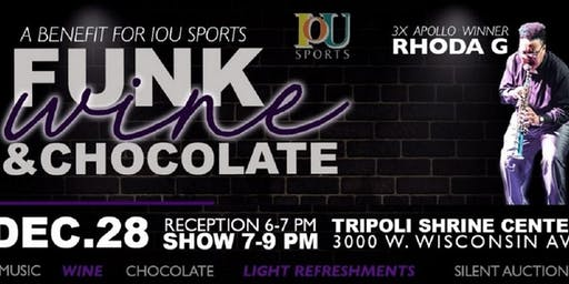 Funk Wine & Chocolate benefit for IOU Sports