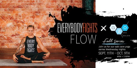 Everybodyfights x G2O Fall Salt Cave FLOW tickets