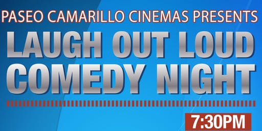 Camarillo Paseo Regency Live Comedy -- Wed, November 20
