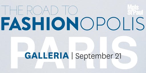 The Road to Fashionopolis: Galleria