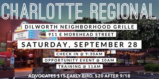September Charlotte Regional
