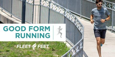 Good Form Running Clinic tickets