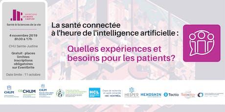La santé connectée à l'heure de l'intelligence artificielle billets