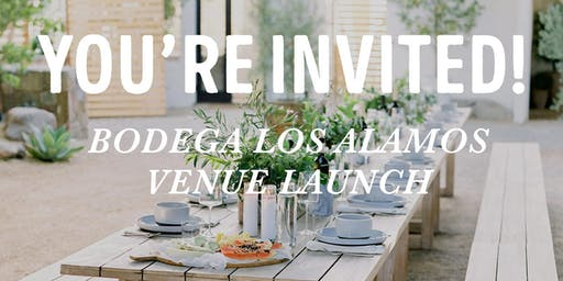 Bodega Los Alamos Venue Launch by The Wedding Standard