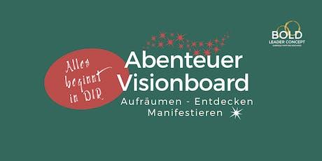 ABENTEUER VISIONBOARD Oktober 2019 (28 Tage Online-Workshop) Tickets