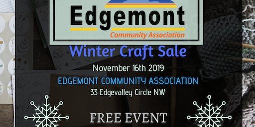 Edgemont Winter Craft sale