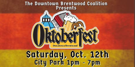Oktoberfest 2019 - Downtown Brentwood FREE EVENT tickets