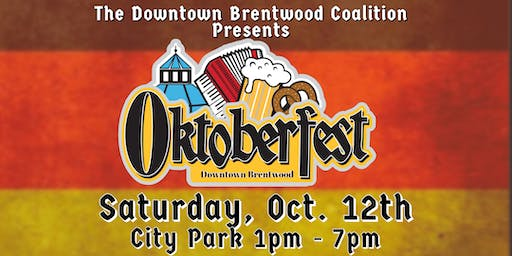 Oktoberfest 2019 - Downtown Brentwood FREE EVENT