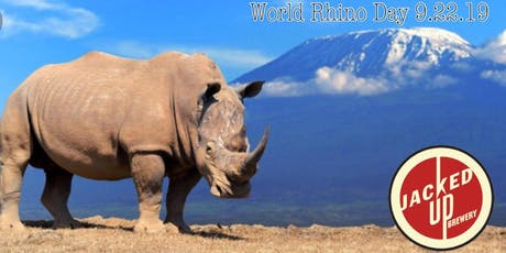 World Rhino Day @Jacked Up Brewery tickets