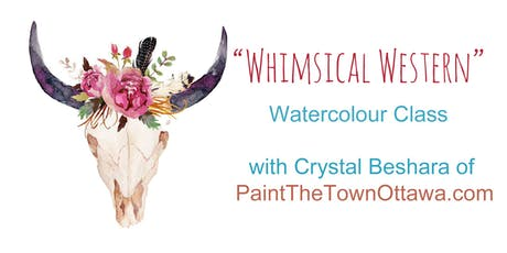 Whimsical Western Watercolour with Crystal Beshara tickets