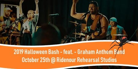 Halloween Bash 2019 -  Featuring - The Graham Anthem Band tickets