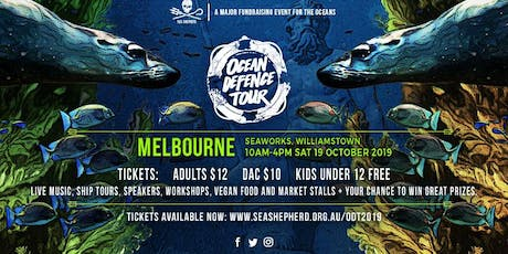 Sea Shepherd's Ocean Defence Tour- MELBOURNE tickets