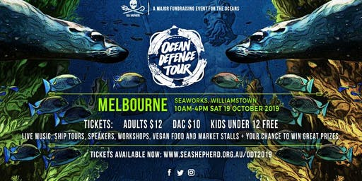 Sea Shepherd's Ocean Defence Tour- MELBOURNE