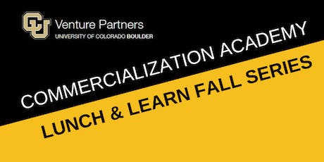 Commercialization Academy: Tales from the Trenches with Murad Kablan tickets