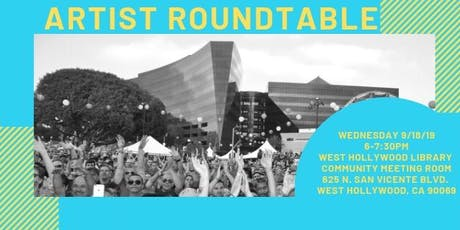 Artist Roundtable tickets