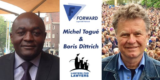 FORWARD & L4L Intl Coming Out Day Event: Michel Togué & Boris Dittrich